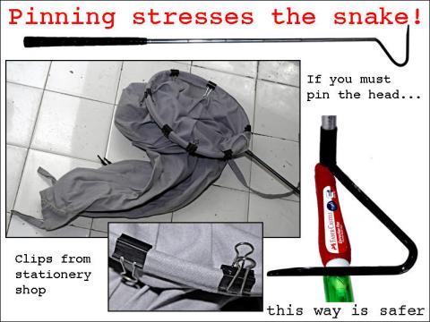 snake hook bag
